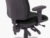 multi-shift task chair for control room furniture
