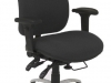 multi-shift task chair for control room consoles