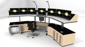 Control Room Furniture Design Layout