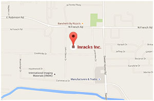 Inracks location on Google Maps