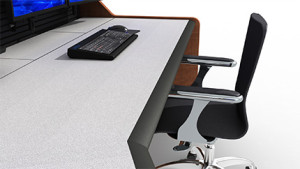 Summit Enterprise Control Room Furniture Durable Worksurface Closeup