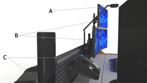 Summit Enterprise Control Room Furniture Diagram 1