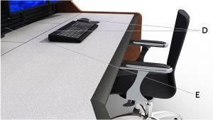 Summit Enterprise Control Room Furniture Diagram 2