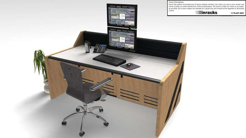 Enterprise Noc Furniture Pic11 Inracks Noc Control Room