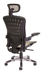 ErgoFlex Ergonomic Mesh Task Chair w/ Headrest - Back
