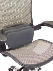 ErgoFlex Ergonomic Mesh Task Chair w/ Headrest - Front
