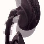 Advanced Ergonomic Mesh Back Ultra Task Chair w/ Headrest