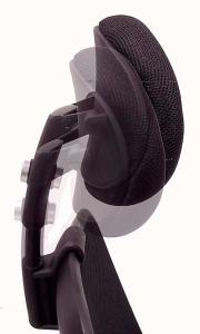 Advanced Ergonomic Mesh Back Ultra Task Chair w/ Headrest - Side
