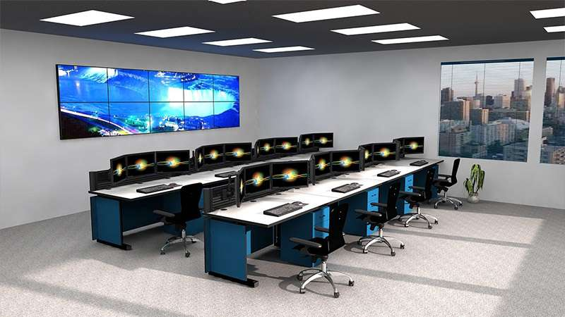 Deluxe Control Room NOC Furniture 2015-1
