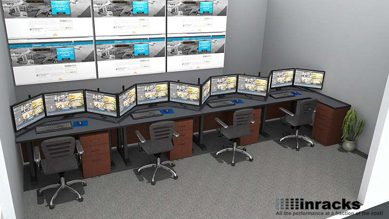 Deluxe Control Room NOC Furniture 2015-4