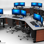 Deluxe Control Room NOC Furniture 2015-5