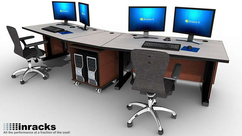 Deluxe Control Room NOC Furniture 2015-6