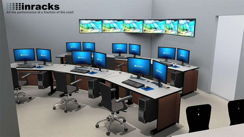 Deluxe Control Room NOC Furniture 2015-33