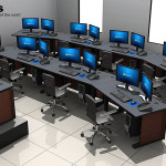 Deluxe Control Room NOC Furniture 2015-7