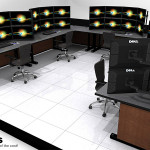 Deluxe Control Room NOC Furniture 2015-8