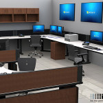 Deluxe Control Room NOC Furniture 2015-9