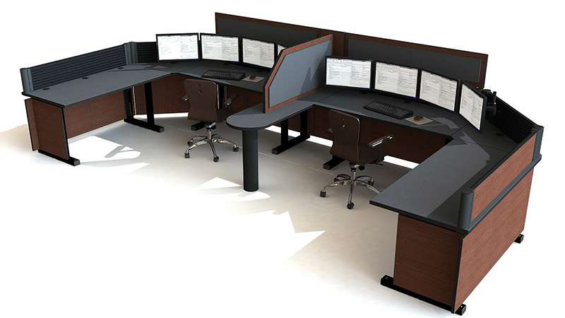 Deluxe Control Room NOC Furniture 2015-13