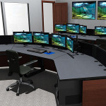 Deluxe Control Room NOC Furniture 2015-14