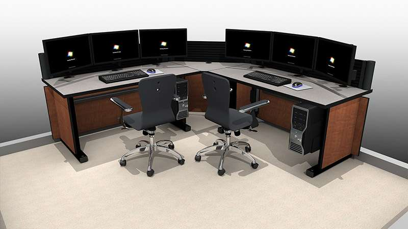 Deluxe Control Room NOC Furniture 2015-16