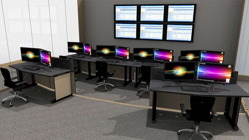 Deluxe Control Room NOC Furniture 2015-19