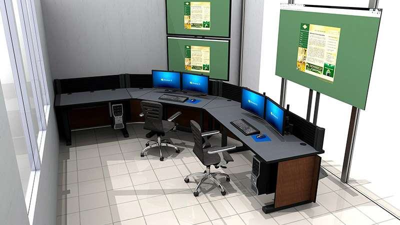 Deluxe Control Room NOC Furniture 2015-22