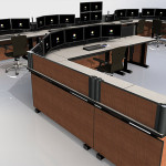 Deluxe Control Room NOC Furniture 2015-23