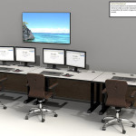 Deluxe Control Room NOC Furniture 2015-24