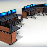 Deluxe Control Room NOC Furniture 2015-26