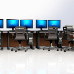 Deluxe Control Room NOC Furniture 2015-30