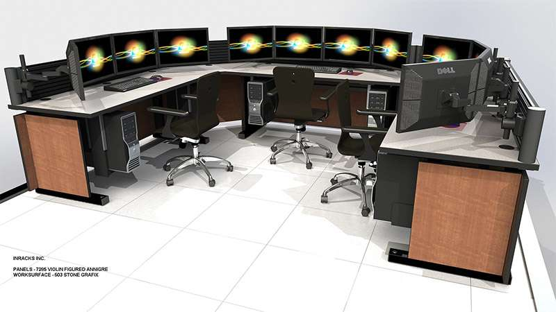 Deluxe Control Room NOC Furniture 2015-29