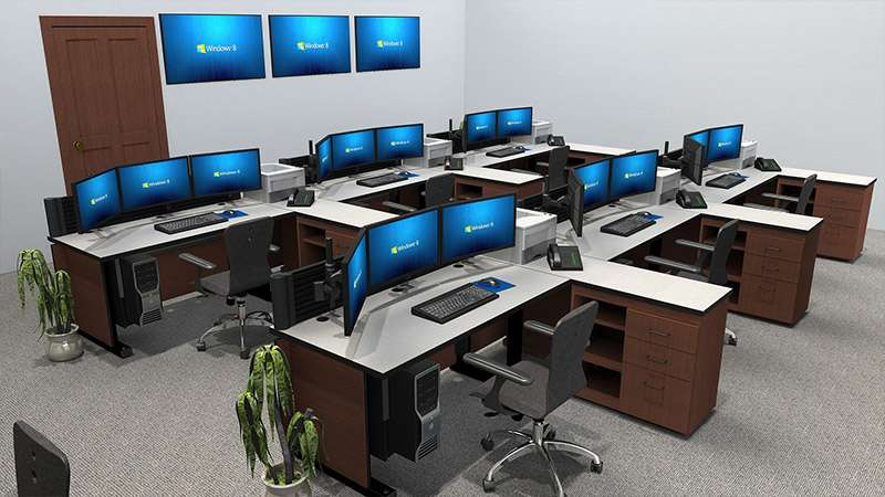 Deluxe Control Room NOC Furniture 2015-31