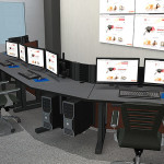 Deluxe Control Room NOC Furniture 2015-32
