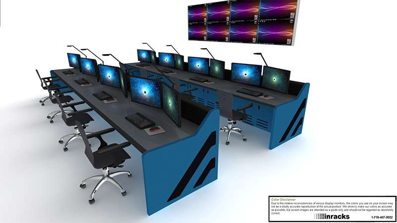 Enterprise Control Room Furniture 2015-16