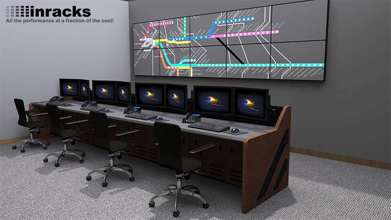 Enterprise Control Room Furniture 2015-21