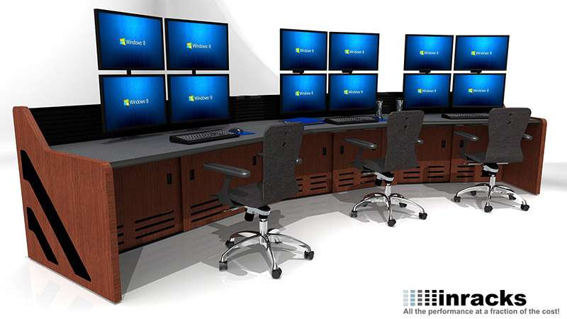 Enterprise Control Room Furniture 2015-23