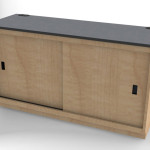 Custom Millwork for Control Room Furniture 04