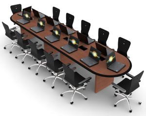 Custom Millwork for Control Room Furniture 05