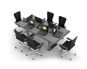 Custom Millwork for Control Room Furniture 06