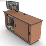 Custom Millwork for Control Room Furniture 07
