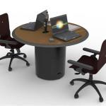 Custom Millwork for Control Room Furniture 08