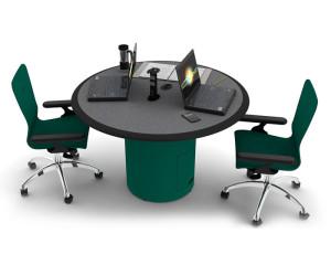 Custom Millwork for Control Room Furniture 09