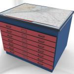 Custom Millwork for Control Room Furniture 011