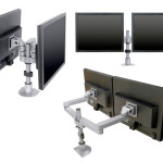 Monitor Arms for Control Room Furniture 05