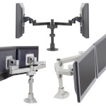 Monitor Arms for Control Room Furniture 01