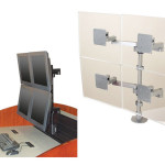 Monitor Arms for Control Room Furniture 04