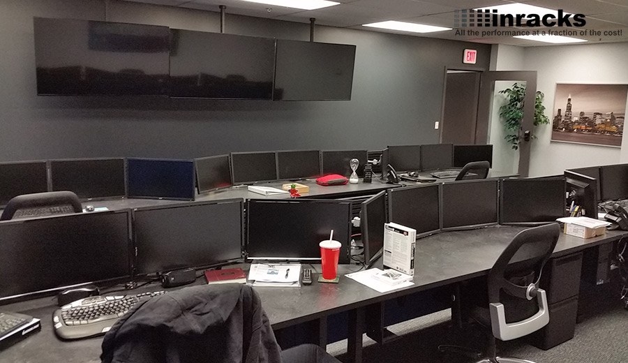 Summitdeluxecontrolroomfurniture48484848 Inracks NOC Mesmerizing Control Room Furniture Property