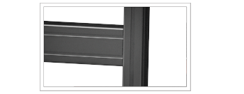 Aluminum Extrusion for Monitor Wall Exterior