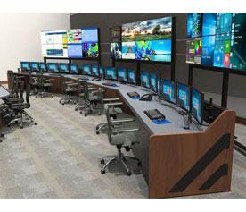 Summit portable monitor wall