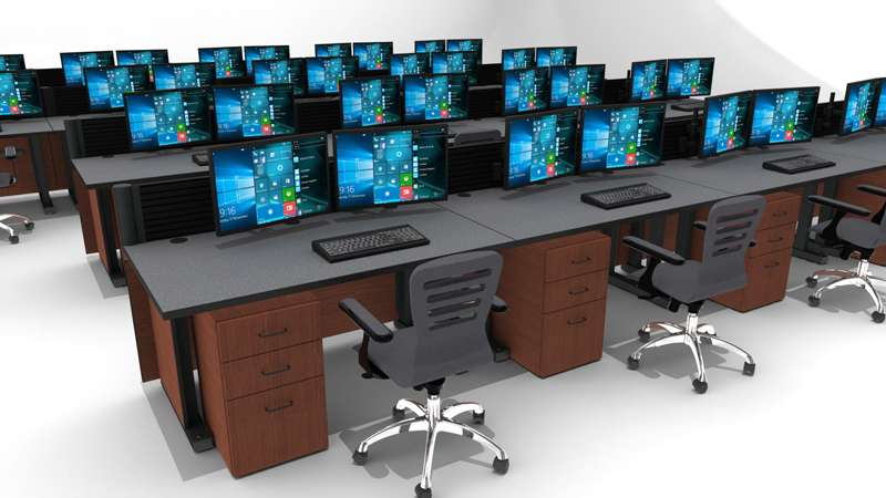 Deluxe Control Room Noc Furniture 2017 – 8
