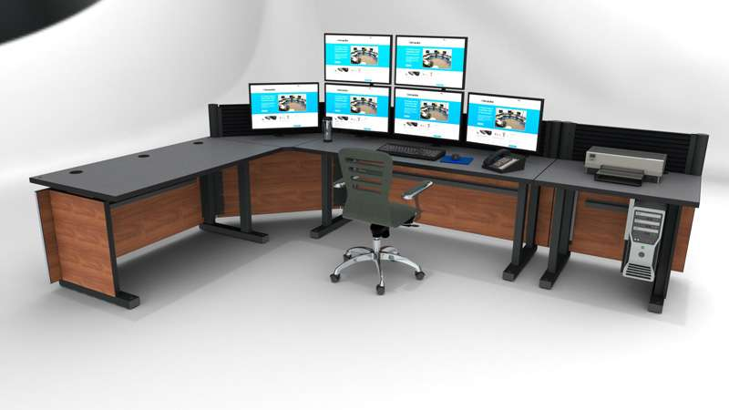 Deluxe Control Room Noc Furniture 2017 – 17